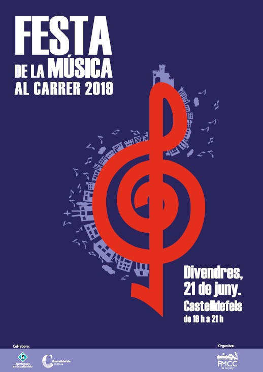 A Castelldefels celebrem la Festa de la música al carrer