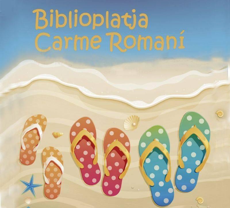 Un estiu més la Biblioteca de la Platja Carme Romaní inicía temporada