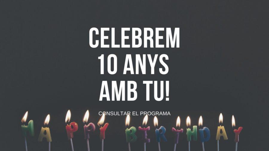 El Teatre Plaza celebra 10 anys!