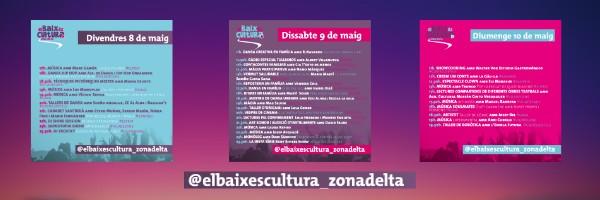 1er Festival cultural en línia del Baix Llobregat