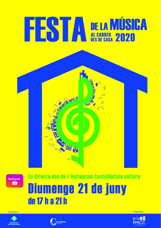 Festa de la música al carrer des de casa 2020